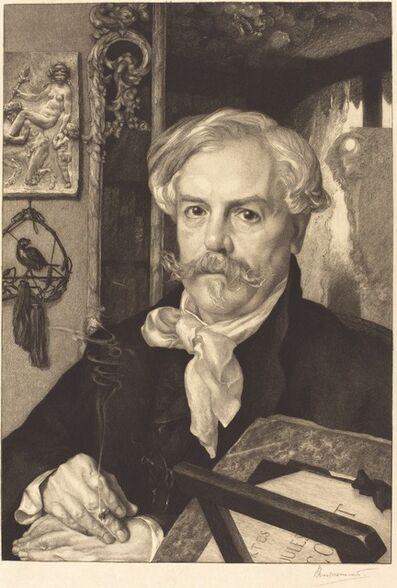 Félix Bracquemond, 'Edmond de Goncourt', 1882
