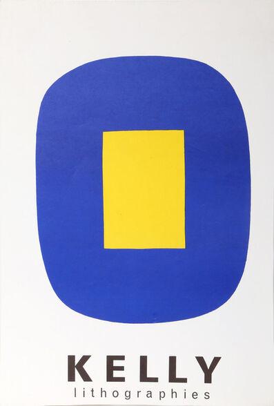 Ellsworth Kelly, 'Jaune Sur Bleu', 1965