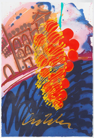 Dale Chihuly, 'Untitled Serigraph from Chihuly over Venice, Handblown Glass Installation Signed Print Contemporary Art', 1990-2000