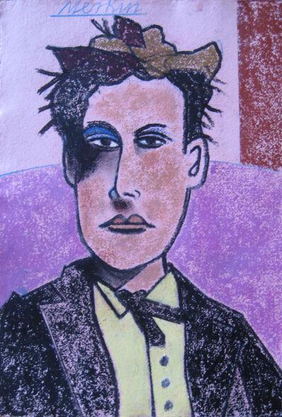 Richard Merkin, '(394) Arthur Rimbaud (purple)', 1980-2000