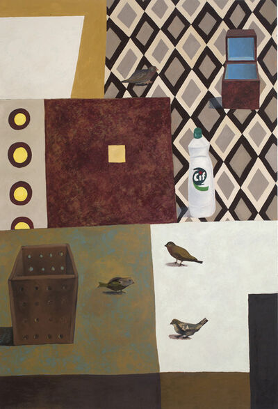 Nathalie Du Pasquier, 'My Birds and Friends', 1995