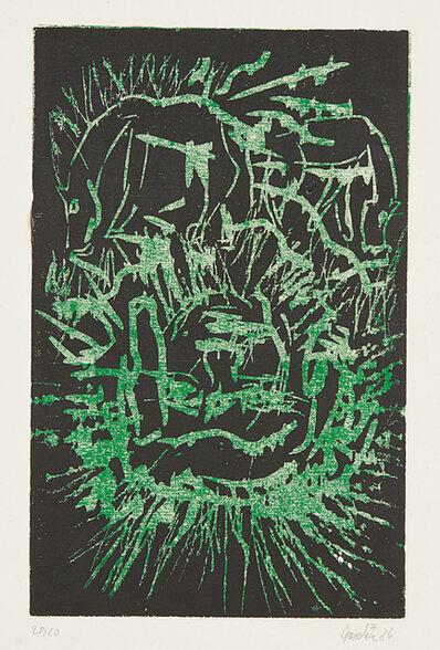 Georg Baselitz, 'Kopf (Head)', 1986