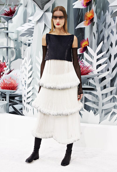 Karl Lagerfeld, 'Ensemble du soir', 2015