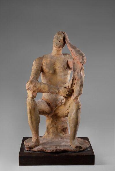 Arturo Martini, 'Uomo seduto', 1943