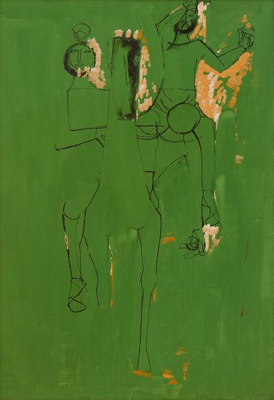 Marino Marini, 'Cavallo e giocolieri (Horse and jugglers)', 1953