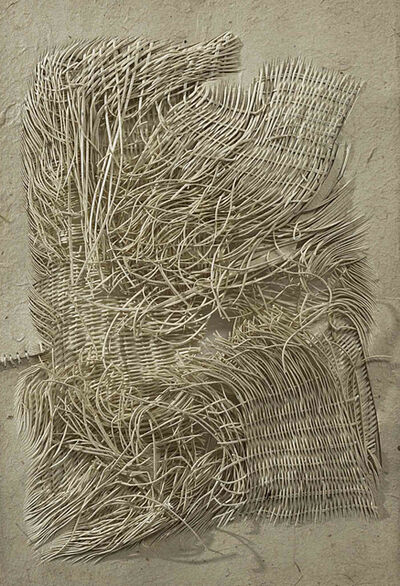 Harendra Khushwaha, 'A Piece of nothing- some lines with life and  time', 2016