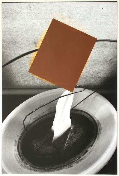 David Ireland, 'Capillary Action with Brown Rectangle', 1994