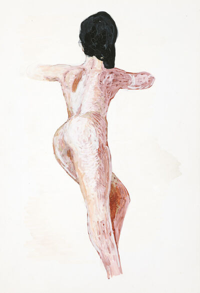 Alfred Czerny, 'Akt in Rückenansicht (Nude Viewed from the Back)', ca. 1990
