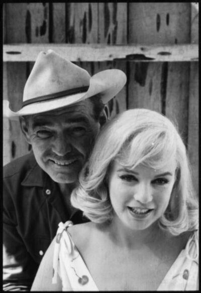 Elliott Erwitt, 'Marilyn Monroe e Clark Gabkle', 1960