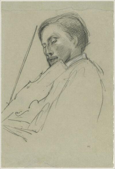 Pierre Puvis de Chavannes, 'The Violinist', ca. 1880