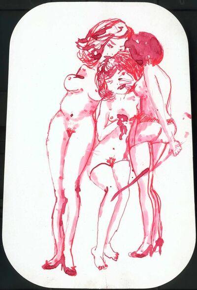 Madeleine Berkhemer, 'A whip for 3', 2003