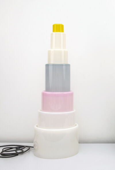 Erica Rosenfeld, 'CAKE TOWER LIGHT V', 2019