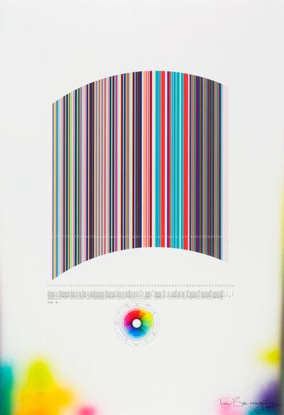 """Tim Bavington, 'Study For """"Kiss (R)""""', 2013"""