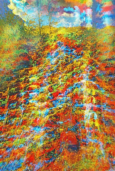 Mitchell Funk, 'Waterfall Multiple Exposure ', 1971