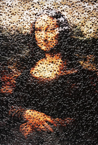 Vik Muniz, 'Mona Lisa, after Leonardo Da Vinci', 2009