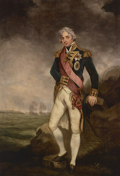 Circle of John Hoppner, 'Portrait of Horatio, 1st Viscount Nelson', ca. 1805