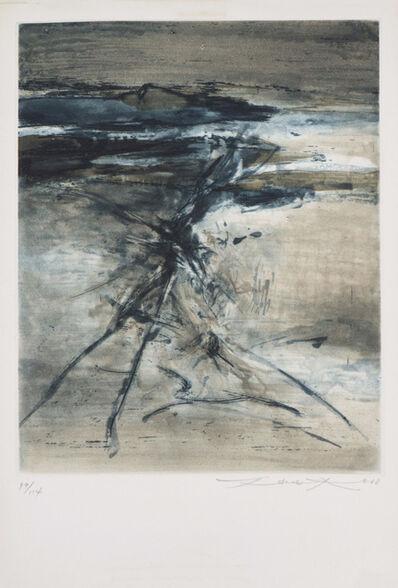 Zao Wou-Ki 趙無極, '無題 Untitled', 1968