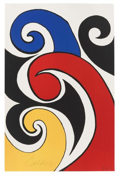 Alexander Calder, 'Les Vagues', c.1970