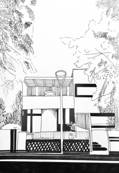 Chourouk Hriech, 'Sans titre ou ballades à la Cité Frugès #3', 2018