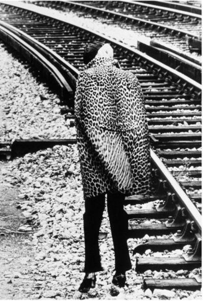 Helmut Newton, 'Leopard Skin Coat', 1966