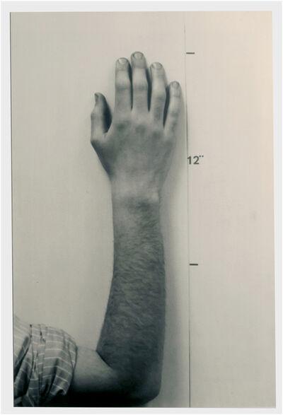 Mel Bochner, 'Hand', 1968