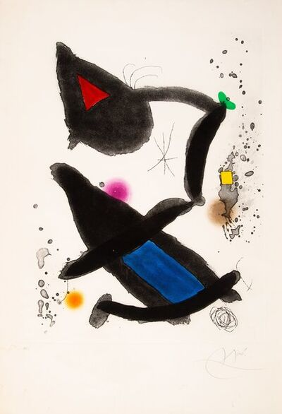 Joan Miró, 'Le Roi David', 1972