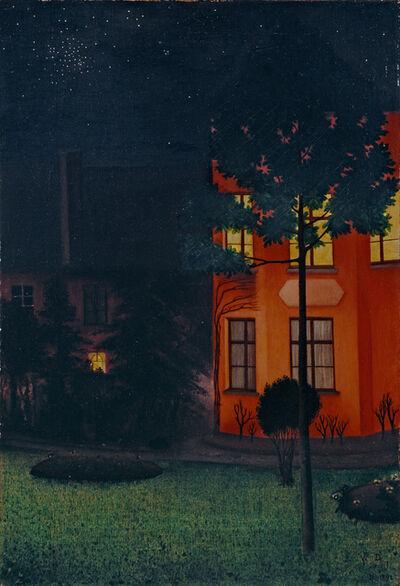 William Degouve de Nuncques, 'The blind house', 1892