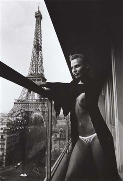 Helmut Newton, 'Model and Meccano Set, Paris', 1976