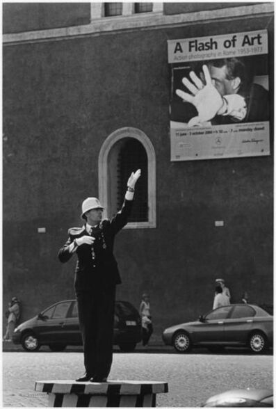 Elliott Erwitt, 'A Flash of the Glove, Rome', 2004