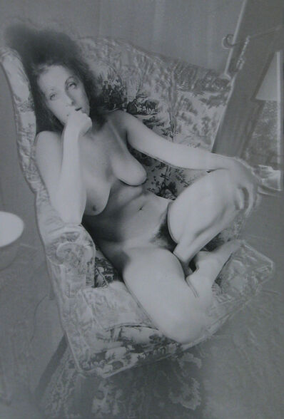 Todd Walker, 'Female Nude (Manipulated Photograph)', 1973