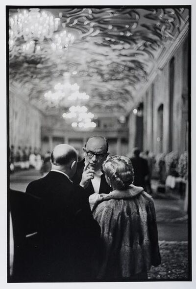 Leonard Freed, 'Reception at Herrenhausen Castle, Hanover, Germany', 1965