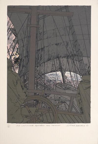 Richard Demarco, 'Full Sail Towards Eynhallow From Stromness', 1991