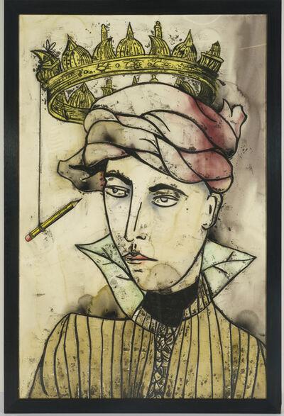 Anju Dodiya, 'The Clown Prince', 2008