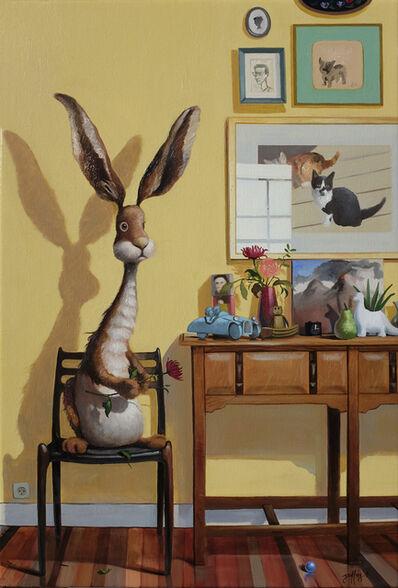 """Geoffrey Gersten, '""""Rabbit in the House""""', 2018"""