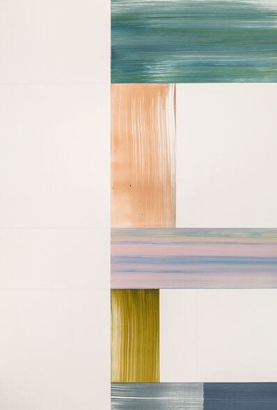 Agnes Barley, 'Constructed Waves', 2020