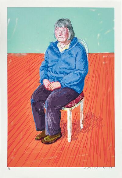 David Hockney, 'Margaret Hockney', 2008