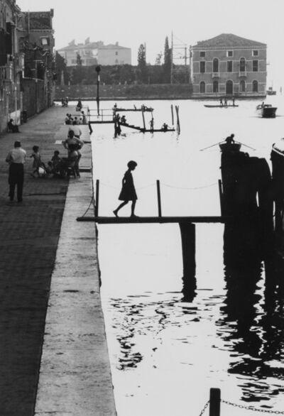 Willy Ronis, 'Venise Fondamenta Nueva', 1959