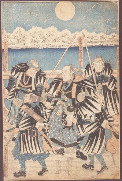 Utagawa Yoshitora, ' The Revenge of the forty-seven rōnin', 1847-1850