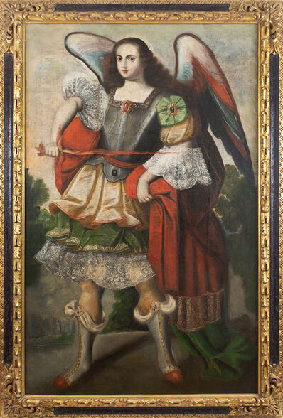 Anonymous, 'Archangel Uriel', ca. 1675