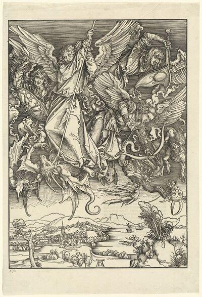 Albrecht Dürer, 'Saint Michael Fighting the Dragon', 1498