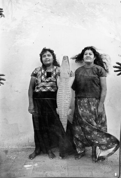 Graciela Iturbide, 'Lagarto (Alligator), Juchitan, Oaxaca', 1986