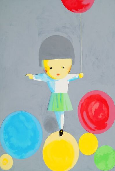 Liu Ye 刘野, 'Little Girl With Balloons', 2001