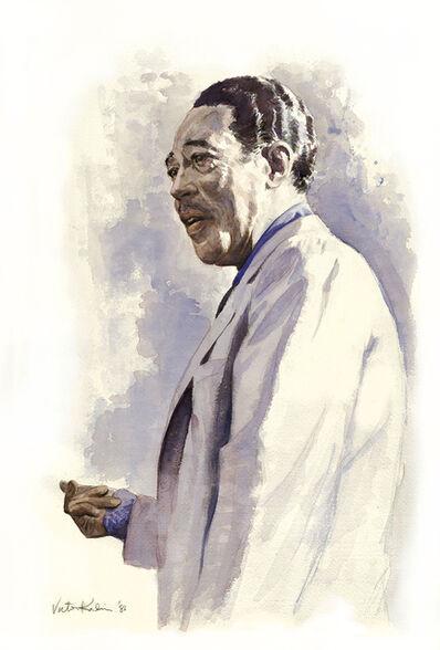 Victor Kalin, 'Duke Ellington Portrait  Illustration ', 1986