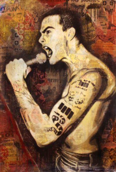 Shepard Fairey, 'Rollins', 2011