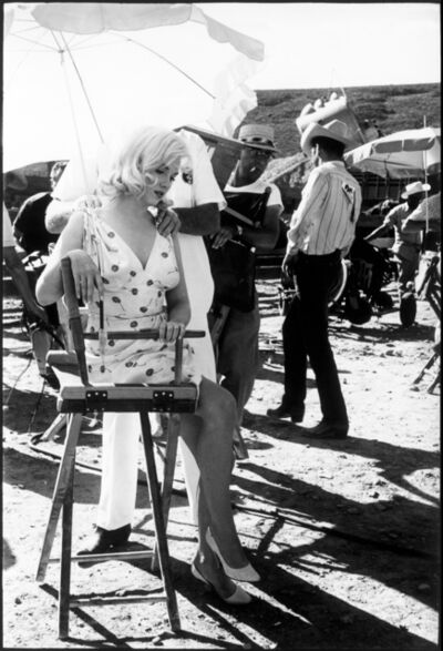 Eve Arnold, 'American actress Marilyn Monroe on the set of 'The Misfits'. Reno, Nevada. USA.', 1960