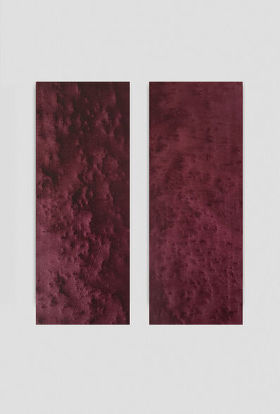 Linda Carrara, 'Frottage Madonna Delle Rocce (Diptych)', 2020