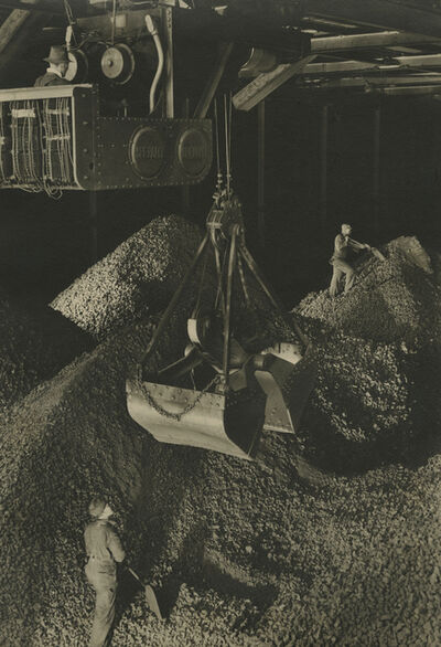 Margaret Bourke-White, 'Industrial scene, giant hopper', ca. 1930s