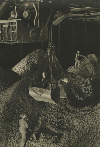 Margaret Bourke-White, 'Industrial scene, giant hopper', ca. 1930s