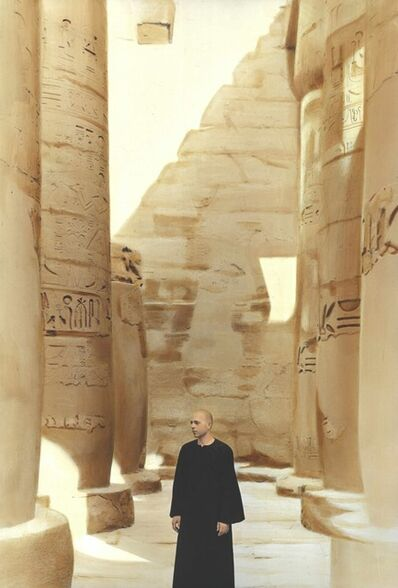Youssef Nabil, 'Untitled, Self-portrait, Luxor 2014 ', 2014
