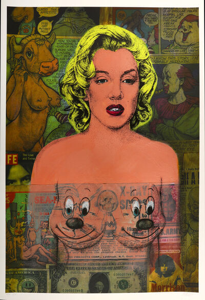 Ron English, 'Marilyn Comic', 2011
